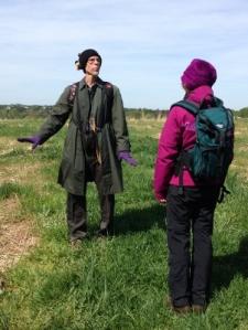Bird walk led by Museum staff