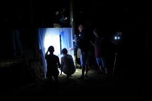 Blacklighting-rig