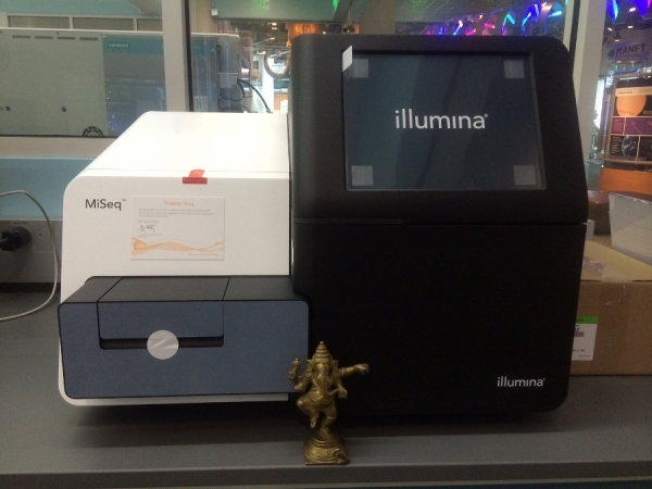 The MiSeq DNA sequencing machine