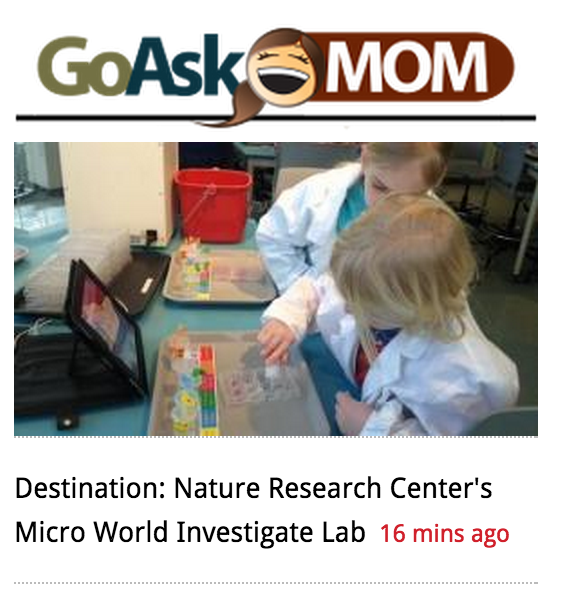 WRAL.com's Go Ask Mom visits the Micro World Investigate Lab