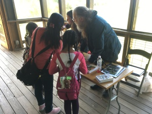 Visitors at the Citizen Science Fest