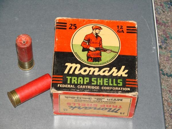 Trap shells for skeet shooting. (NCMNS/Margaret Cotrufo)