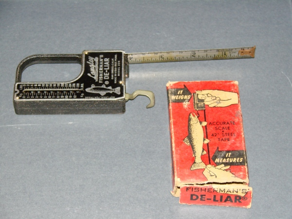 Device for measuring and weighing fish. (NCMNS/Margaret Cotrufo)